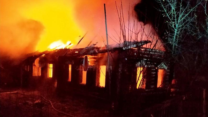 Большинство пожаров на Гомельщине возникает из-за неосторожного обращения с огнем