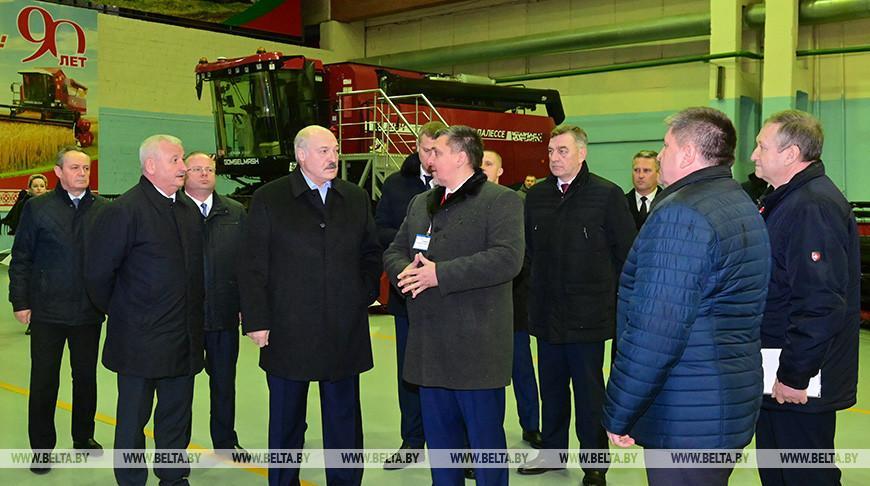 Лукашенко о предприятиях: некоторые предлагают перемены — «это не надо, продадим», но мы пошли другим путем