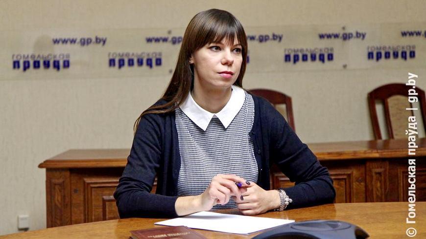 Главный правовой инспектор труда профсоюзов Гомеля Екатерина Филипцова провела прямую линию