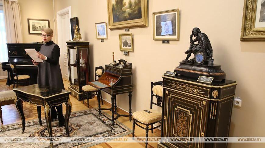 ФОТОФАКТ: Новая постоянная экспозиция открылась в Гомельском дворцово-парковом ансамбле