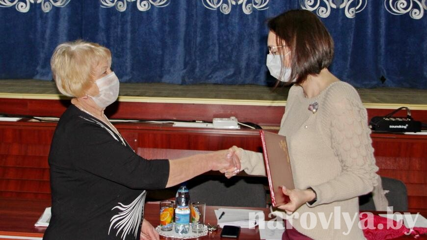 У районной организации Белорусского союза женщин новый председатель