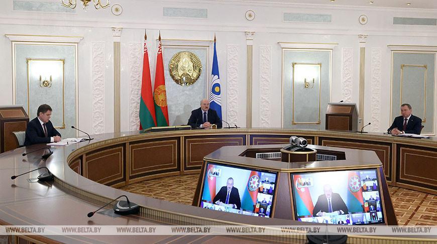 Участие Лукашенко в саммите глав государств СНГ