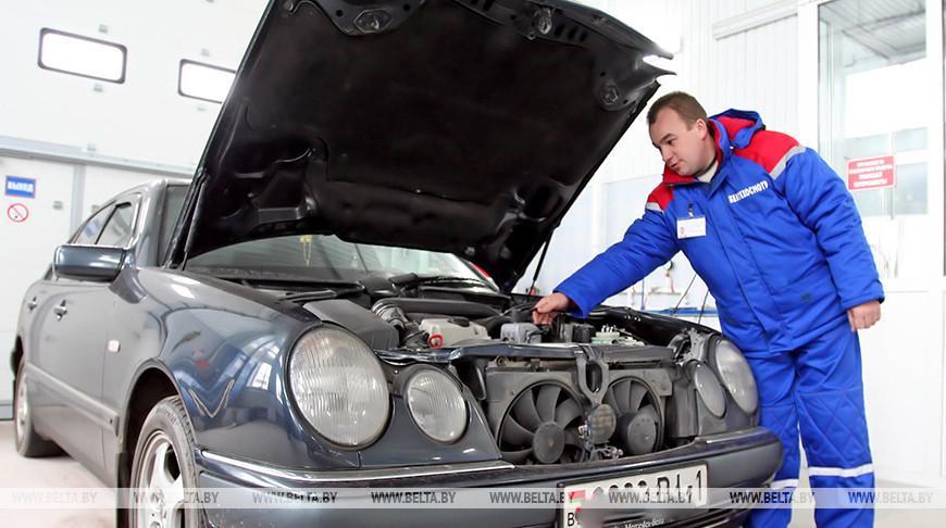 В Беларуси отмечают снижение количества представляемых на техосмотр авто