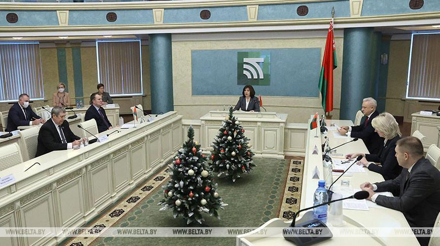 Кочанова: республиканский и местные бюджеты — ключевое звено в работе всех органов власти