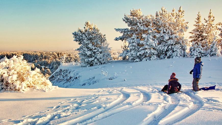 Зима, каникулы. Ура!