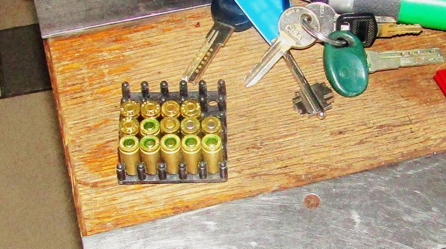 Украинец пытался ввезти в Беларусь 15 патронов