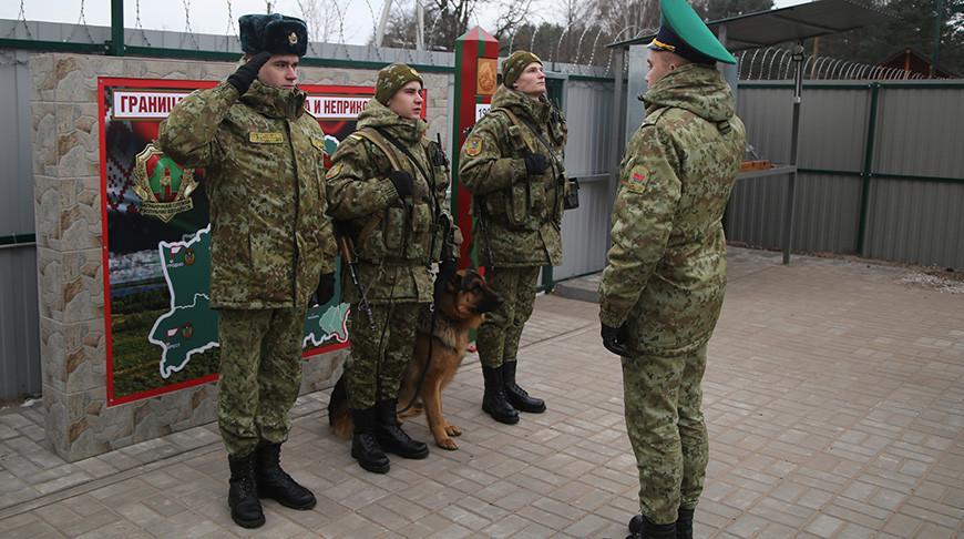 Погранзаставу модульного типа открыли на границе с Украиной
