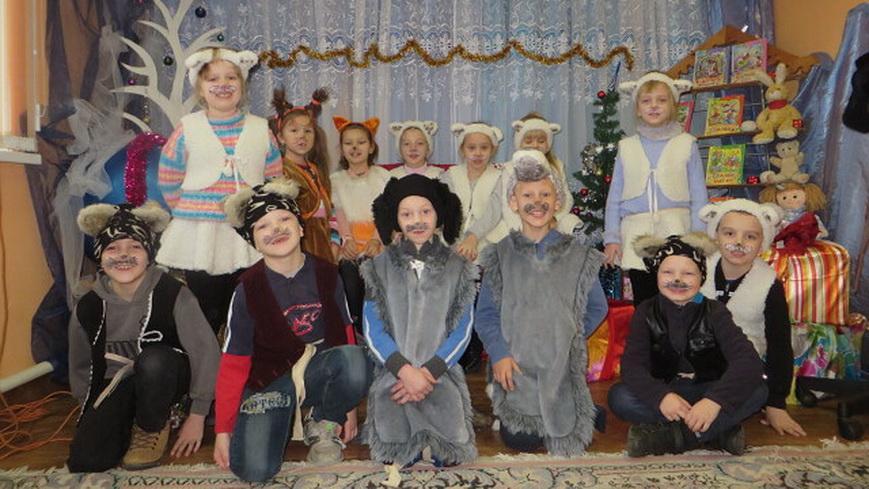 Ребята побывали за кулисами театрального коллектива «Маска»