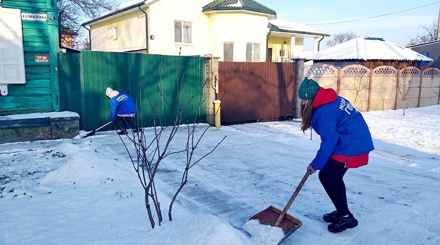 Молодежь области присоединилась к акции «Чистый двор»