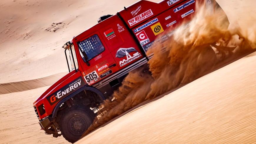 Экипаж белоруса Алексея Вишневского занял 2-е место на пятом этапе «Дакар-2021»