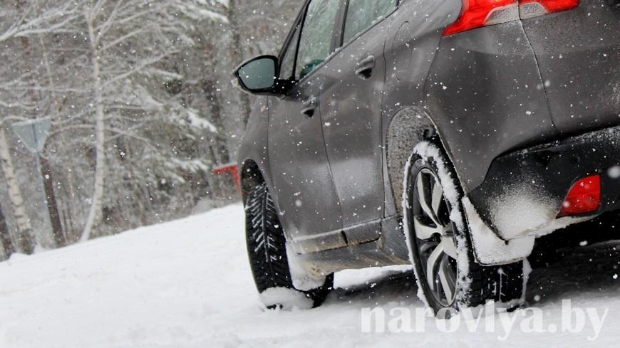 ГАИ напомнила о правилах вождения в сложных погодных условиях