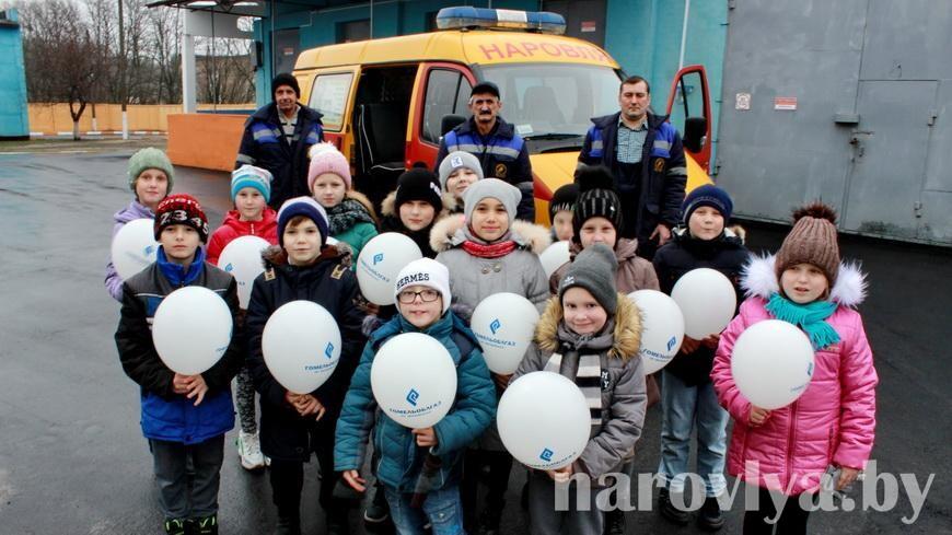 Учащиеся СШ № 2 посетили РГС