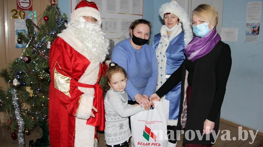 В Наровлянском ТЦСОН прошла акция «Наши дети»