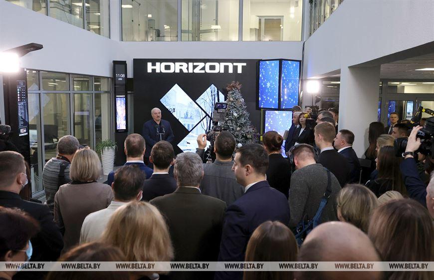 Лукашенко про «Горизонт»: не жалею, что сохранил это производство