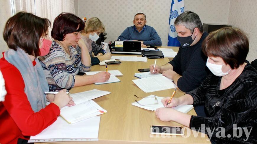 Профсоюзный лидер Наровлянщины провел президиум по открытому письму о введении экономических санкций