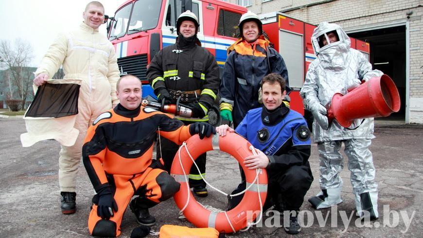 Спасатели Наровлянщины отмечают профессиональный праздник