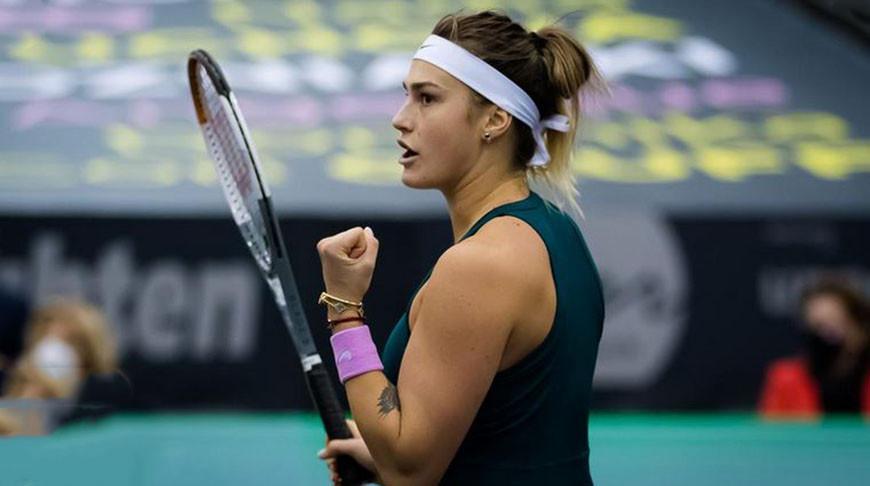 Арина Соболенко пробилась в четвертьфинал турнира в Абу-Даби