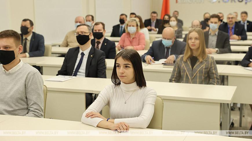Молодым людям было важно узнать курс развития страны лично от Президента — преподаватель ГГУ им. Ф.Скорины