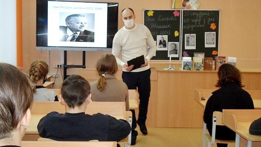 В Наровле прошли мероприятия, посвященные 100-летию Ивана ШАМЯКИНА