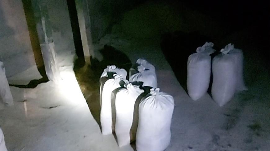 Два жителя Рогачевского района пытались похитить со склада 600 кг комбикорма