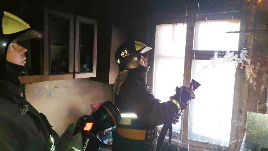 Пожар в Будках