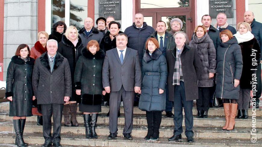 Реализацию местных инициатив и возможности инвестирования в производство обсудили в Калинковичском районе