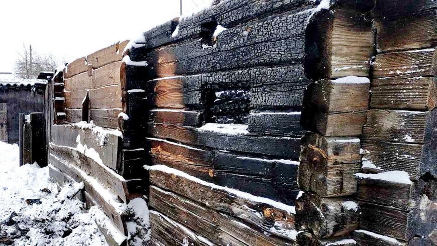 В Гажине произошел пожар