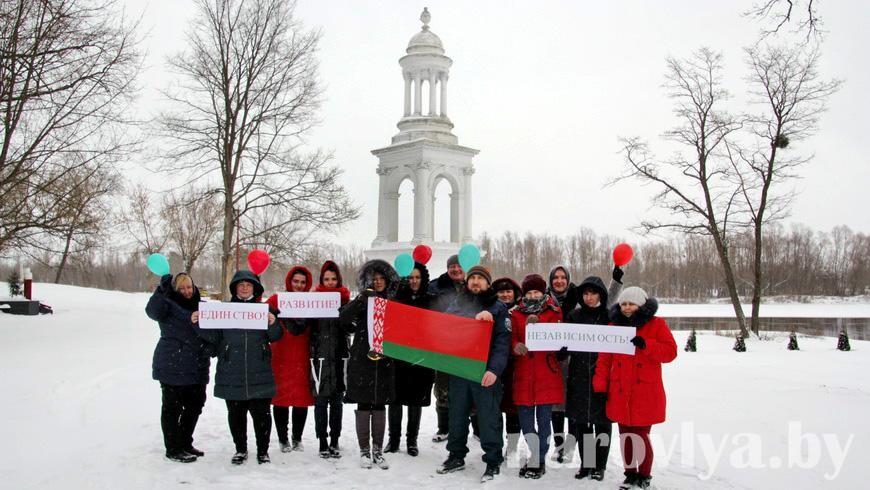 Жители Наровлянского района доверяют делегатам ВНС!