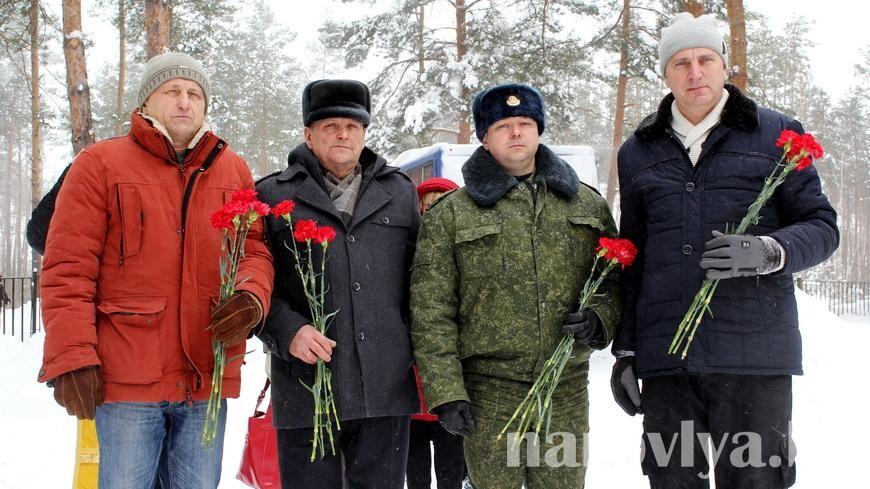 В Наровле почтили память воинов-интернационалистов