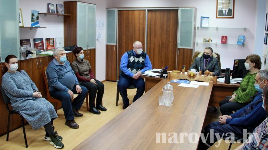 На Наровлянщине делегаты ВНС встречаются с трудовыми коллективами