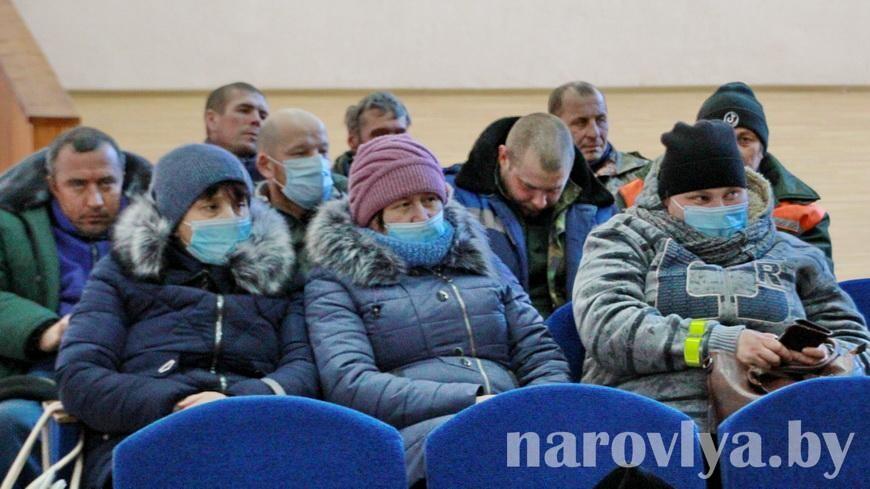 Делегат VI Всебелорусского народного собрания Алла Науменко встретилась с жителями Кирова
