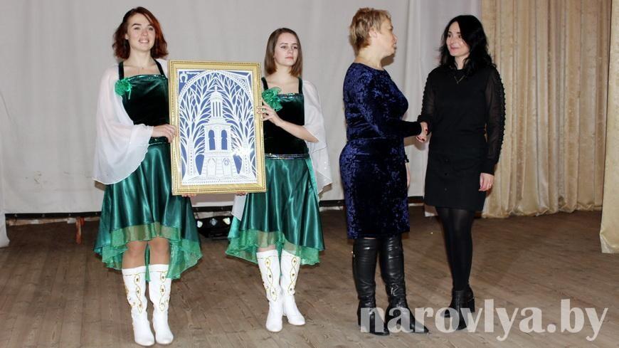 На Наровлянщине подвели итоги фестиваля «Рождественские встречи»