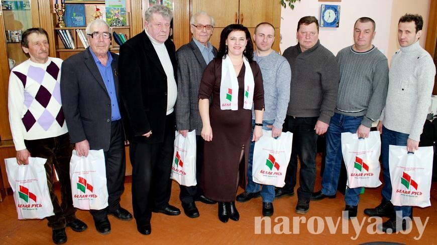 Как соревновались мужчины в Наровлянском ТЦСОН