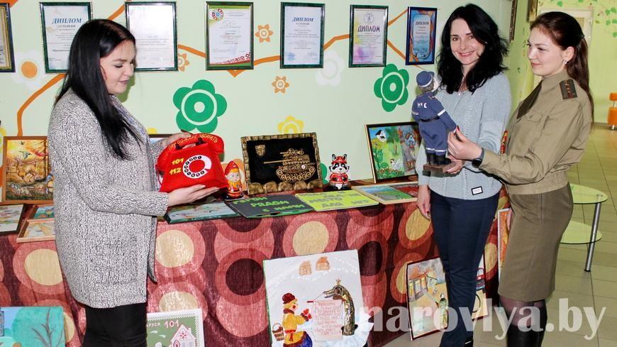 В Наровле подвели итоги смотра-конкурса «Спасатели глазами детей»