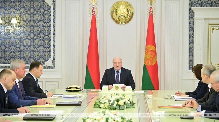 Лукашенко провел совещание по подготовке к VI Всебелорусскому народному собранию