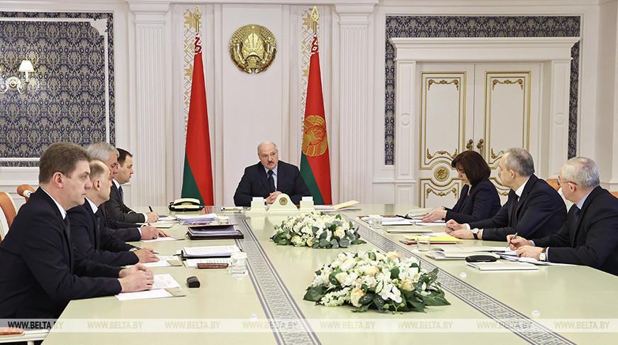 Финальные штрихи подготовки к Всебелорусскому народному собранию обсудили на совещании у Лукашенко