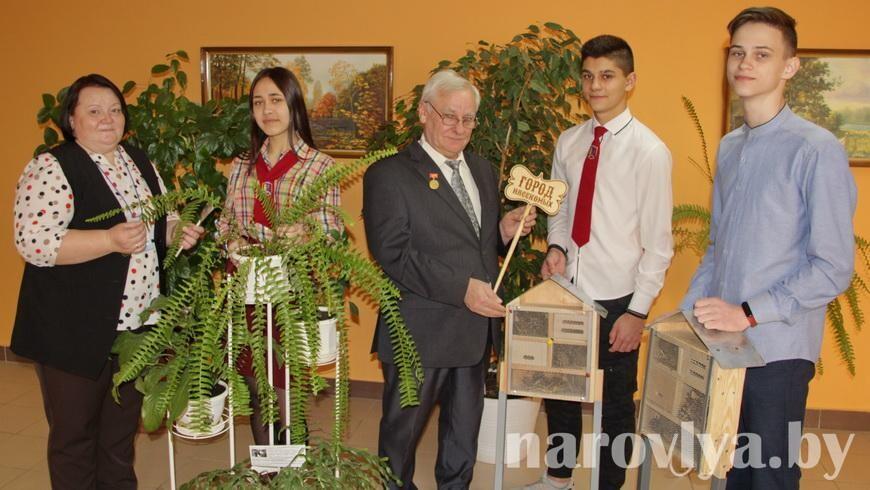 Блистательные успехи СШ № 3 города Наровли