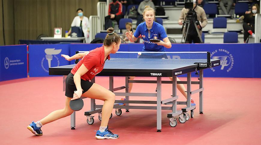 Екатерина Боровок и Владислав Руклецов стали чемпионами Беларуси по настольному теннису