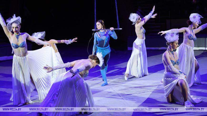 В Гомельском цирке прошел премьерный показ новой программы