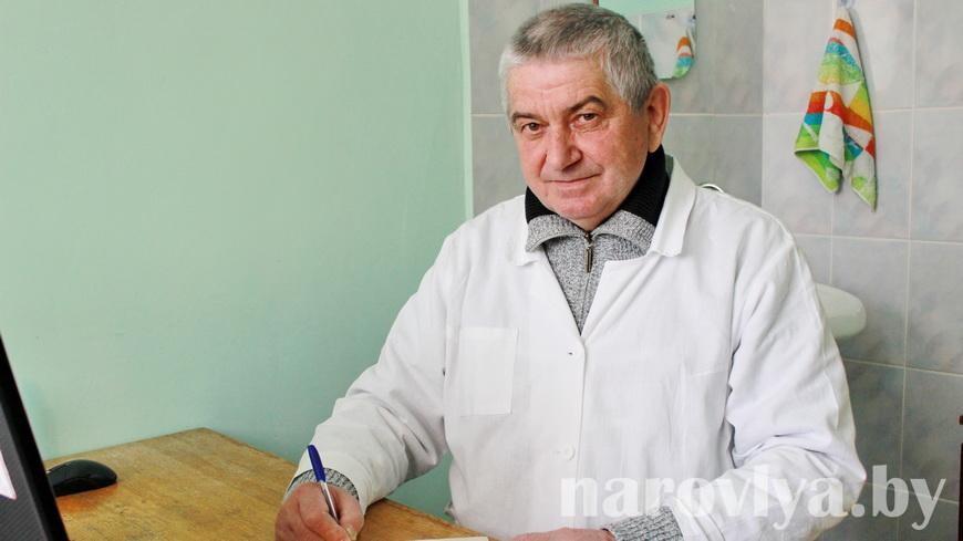 Наш земляк Владимир Белайчук 47 лет посвятил здравоохранению
