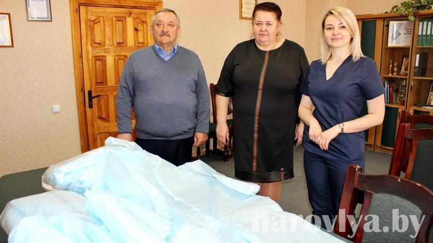 Профсоюзы Наровлянщины продолжают оказывать помощь медработникам