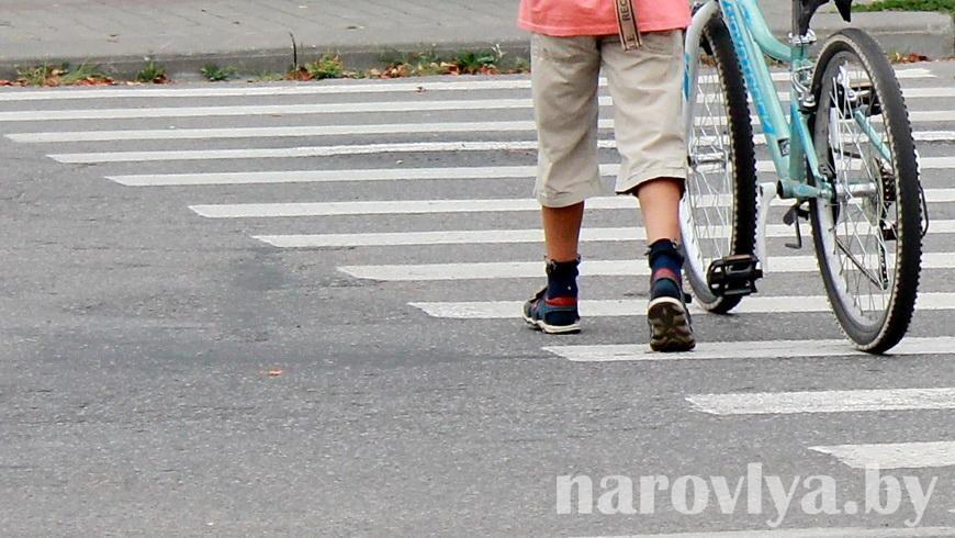 Семилетний велосипедист пострадал в ДТП