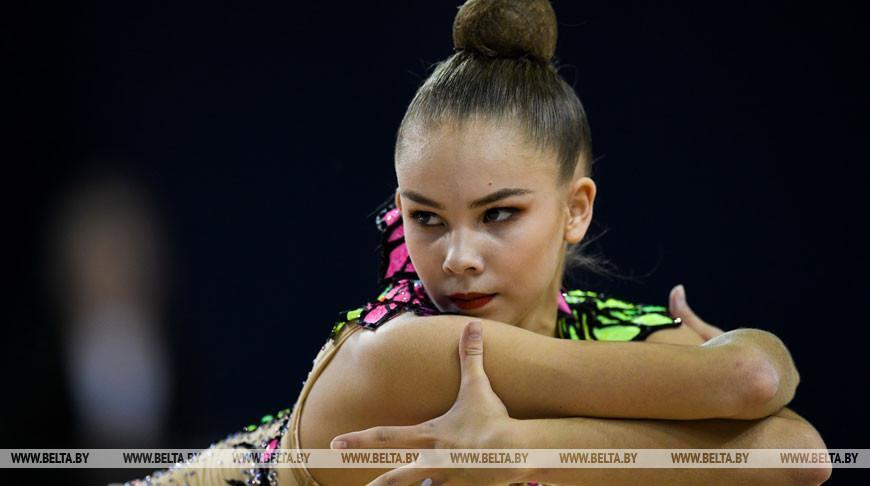 Четыре медали выиграли белоруски на этапе КМ по художественной гимнастике в Софии