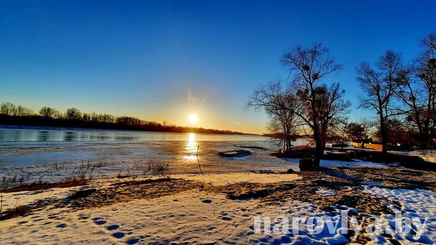 Посмотрите, как прекрасны рассветы над Припятью