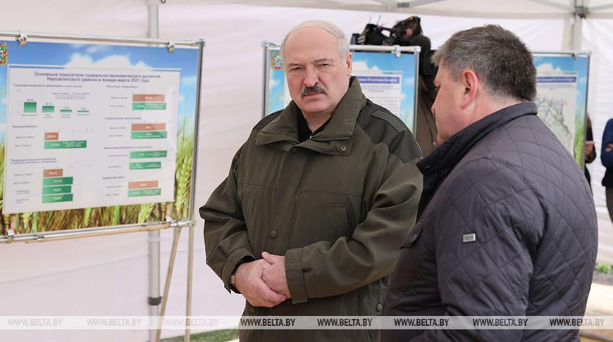 Лукашенко о развитии чернобыльских территорий: надо четко понимать, где будут жить люди