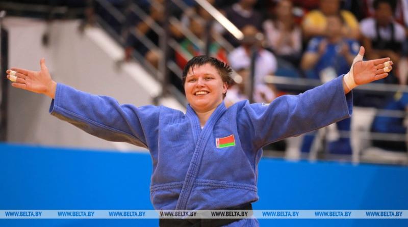 Белоруска Марина Слуцкая выиграла бронзу ЧЕ по дзюдо в Португалии