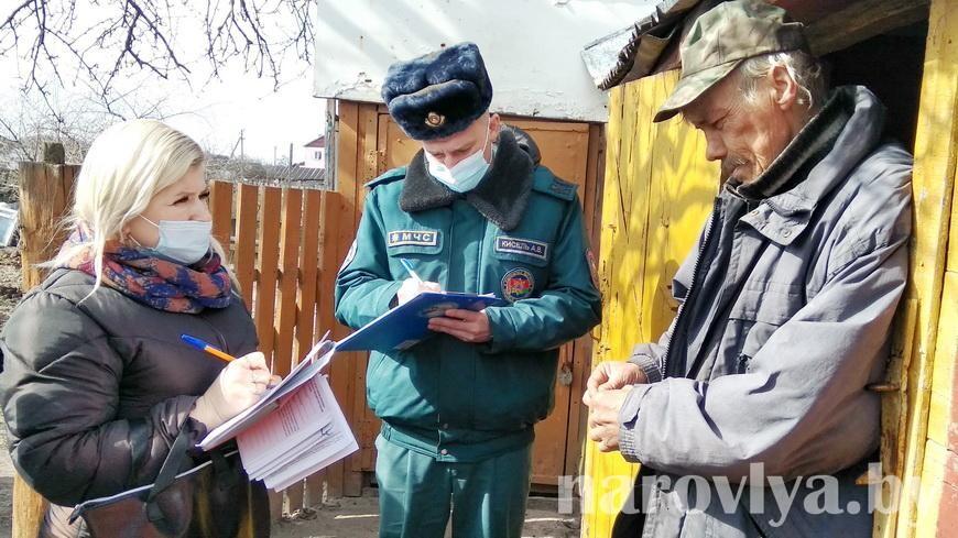 Городская смотровая комиссия №2 посетила домовладения по улице Октябрьской