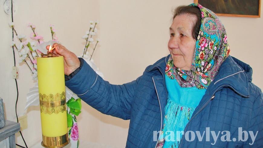 Жители Грушевки к Пасхе готовы