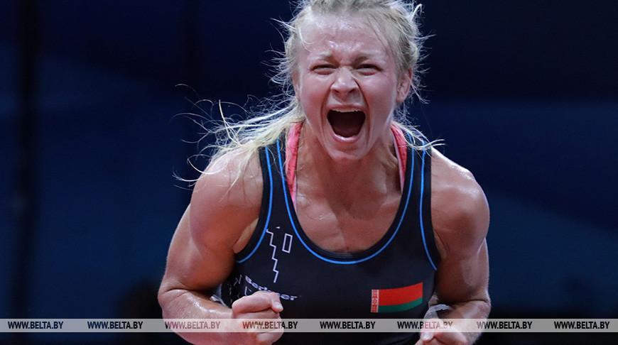 Белоруска Ирина Курочкина выиграла золото ЧЕ по борьбе в Польше