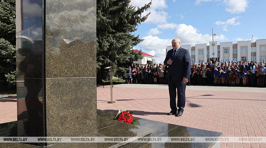 Рабочая поездка Лукашенко в районы, пострадавшие от аварии на ЧАЭС